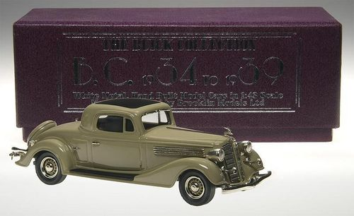 Brooklin Models 1934 Buick 96-S Coupe beige 1/43