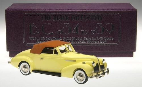 Brooklin 1939 Buick Century Convertible Coupe M-66C 1/43