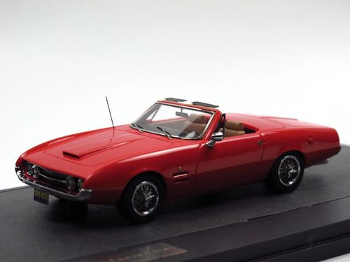 Matrix Scale Models 1967 Ghia 450 SS Convertible rot 1/43