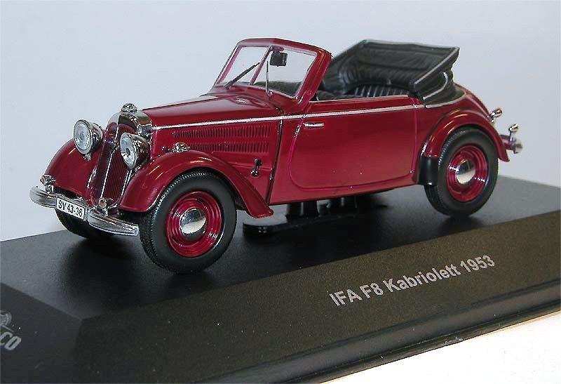 ist models ifa f8 cabriolet 1953 dunkelrot cars co. Black Bedroom Furniture Sets. Home Design Ideas