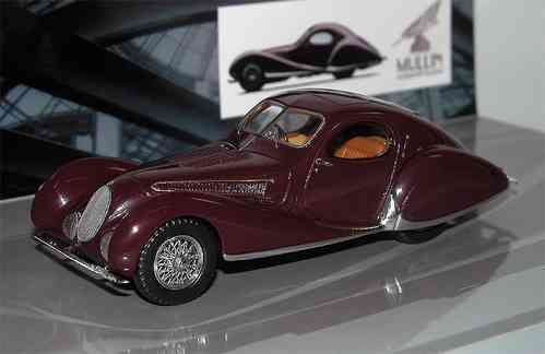 Minichamps, 1937 Talbot Lago T 150-C-SS Coupe, Mullin Museum Collection 1/43