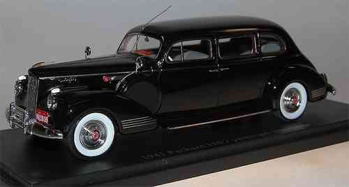 ESVAL MODELS, 1941 Packard 180 (One-Eighty), 7-Passenger Limousine, schwarz, 1/43 Resin made