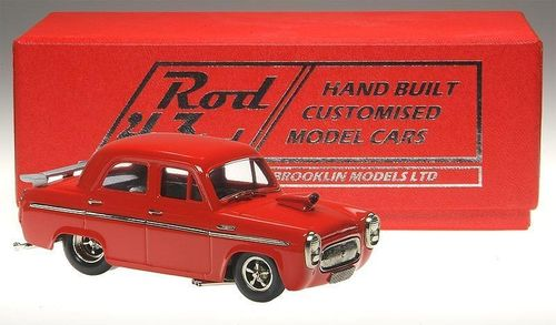 Brooklin Models 1955 Ford Prefect Pro Street red 1/43