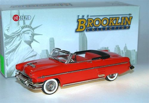 Brooklin Models, 1954 Mercury Monterey Convertible, rot, 1/43 - deleted