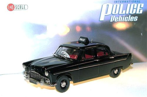Brooklin Models, 1956 Ford Zephyr MKII Saloon, Liverpool City Police, Polizei, 1/43