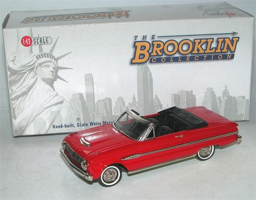 Brooklin Models, 1963 Ford Falcon Futura Sports Convertible, 1/43, Auslaufmodell, deleted