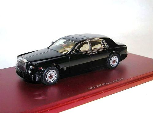 TSM Model 2009 Rolls Royce Phantom VII Sedan black 1/43