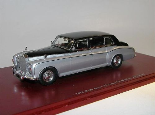 TSM Model 1970 Rolls Royce Phantom VI Mulliner Park Ward 1/43