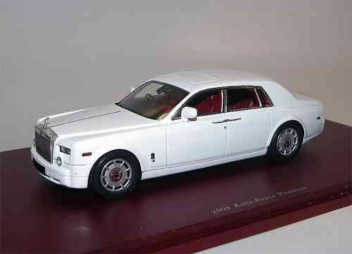 TSM Model 2009 Rolls Royce Phantom Sedan white 1/43