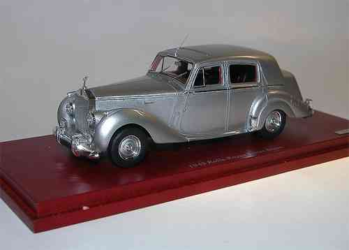TSM Model 1949 Rolls-Royce Silver Dawn silber 1/43
