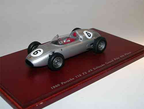 Porsche 718 F2 4° Grand Prix 1960 Graham Hill # 6 1/43