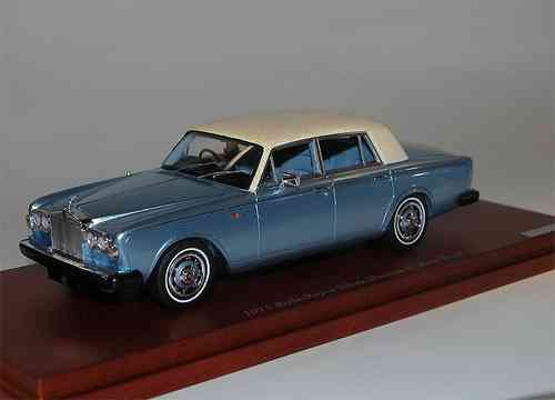 TSM Model 1971 Rolls Royce Silver Shadow Park Ward blau 1/43