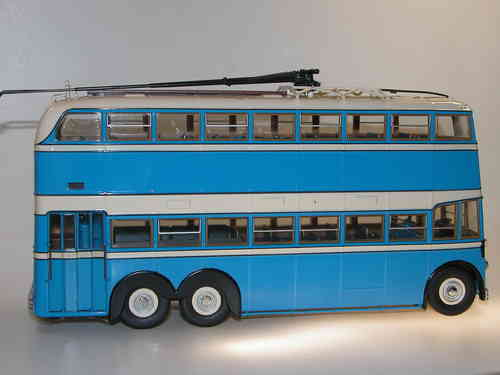 Ultra Models, Double Deck Trolleybus YaTB-3, USSR 1/43