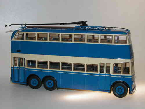 Ultra Models 2-Door Double Deck Trolleybus YaTB-3 USSR 1/43