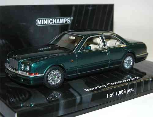 Minichamps 1996 Bentley Continental R green metallic 1/43