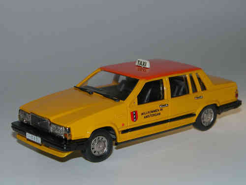 RobEddie, 1987 Volvo 760 GL, TAXI, 1/43, white metal, rare