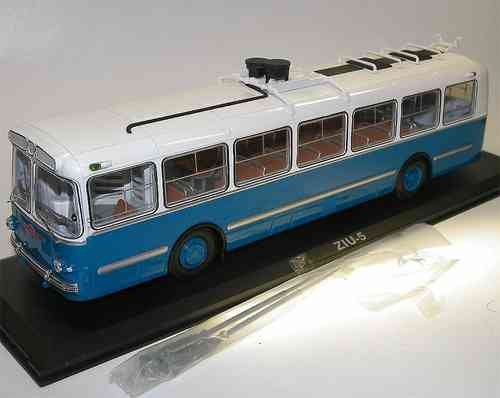 Classic Bus, City Trolleybus ZIU-5, USSR 1961, SiU, Obus, O-Bus, 1/43