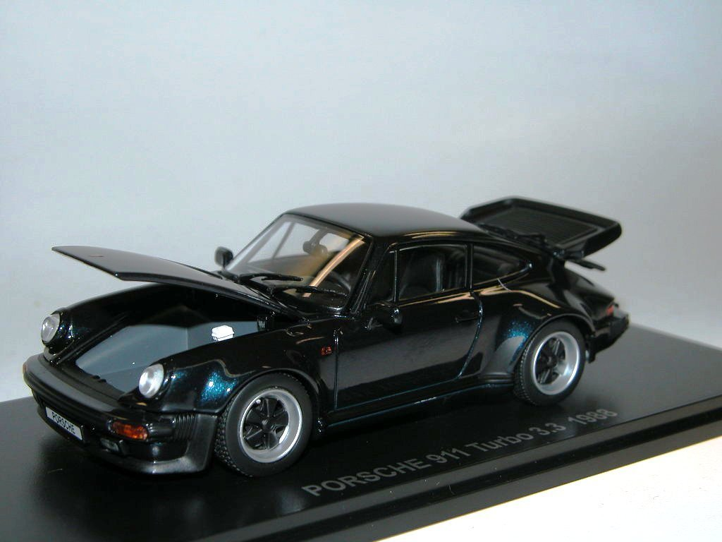 kyosho porsche 911 turbo 3 3 1988 dark blue g nstiger. Black Bedroom Furniture Sets. Home Design Ideas