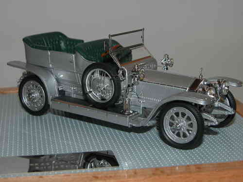 "Ilario, 1907 Rolls Royce Silver Ghost ""King of Belgians"" AX 201, 1/43"