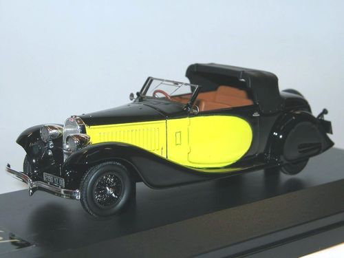 Nickel 1934 Bugatti T57 Stelvio Drophead Coupe 1/43