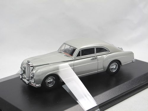 Oxford Die-Cast Bentley S1 Continental Fastback silber 1/43