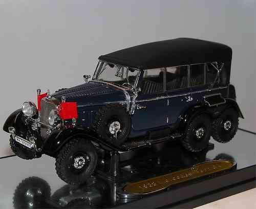Signature Models 1938 Mercedes-Benz G4 closed blue, 1/43