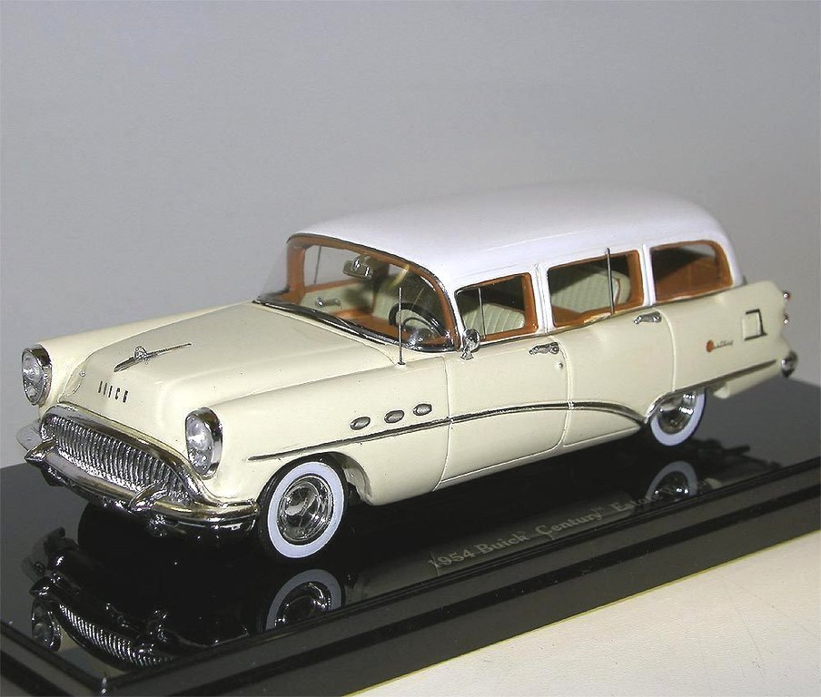 Buick Century Station Wagon For Sale: TSM Model 1954 Buick Century Station Wagon Creme 1/43 Günstig