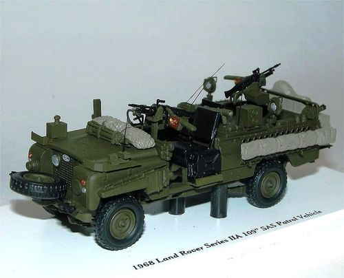 1968 Land Rover Series IIA 109 SAS Patrol Vehicle 1/43