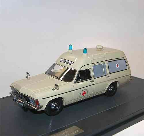 Matrix Scale Models Opel Admiral B Miesen Ambulanz 1/43