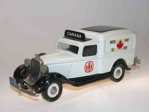 Brooklin Models, 1935 Dodge Van, Pacific Coast Toy Show 1989, 1/43