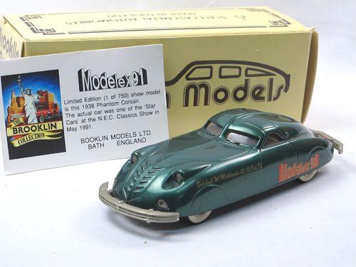 Brooklin Models 1938 Phantom Corsair MODELEX 1991 1/43 limited