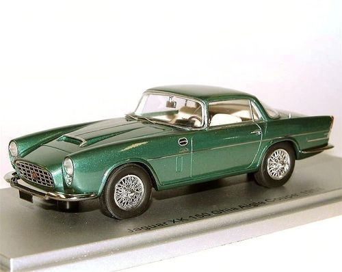 Kess Scale Models 1958 Jaguar XK 150 Ghia Aigle Coupe green 1/43