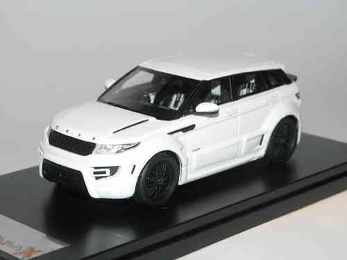 Premium X 2012 Range Rover Evoque by ONYX Design white 1/43