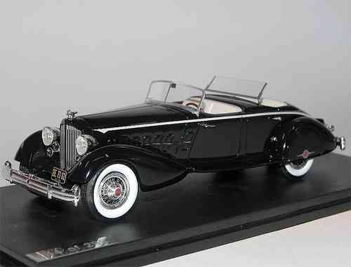 Great Lighting Models, Packard Twelve 1108 LeBaron Sport Phaeton, blue, 1/43