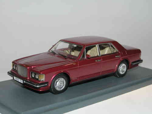 Neo Scale Models 1989 Bentley Turbo R rot metallic 1/43