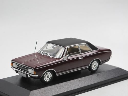 Minichamps, 1966 Opel Commodore A, rot/schwarz, 1/43