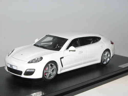 Great Lighting Models, 2014 RUF Porsche Panamera RXL, white, 1/43