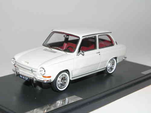 Matrix Scale Models 1966 DAF 44 weiß 1/43