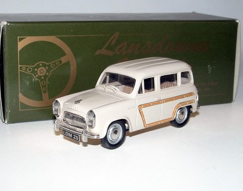 Lansdowne Models 1956 Ford Squire Estate beige 1/43