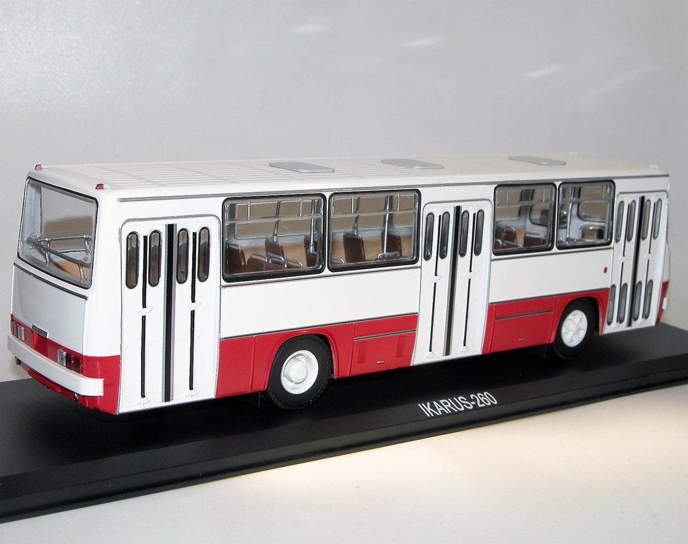classic bus ikarus 260 bus stadtbus budapest ungarn 1 43 rot. Black Bedroom Furniture Sets. Home Design Ideas