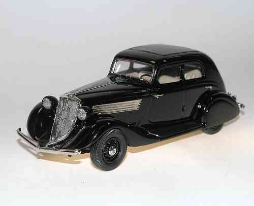 Brooklin Models, 1934 Studebaker Commander Landcruiser Sedan, black, 1/43