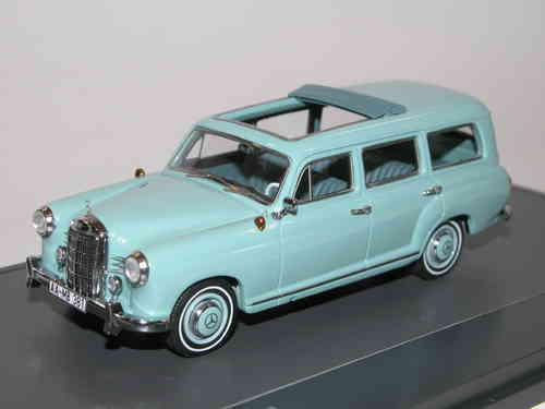 Matrix 1960 Mercedes-Benz 180 (W120) Binz Kombi blau 1/43
