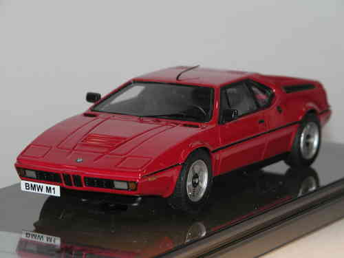 Century Dragon, 1978 BMW M1 (E26), red, 1/43 Resine