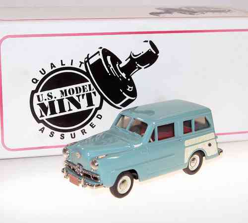 US Model Mint 1951 Crosley Super Station Wagon green 1/43