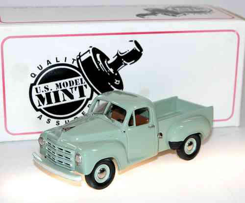 US Model Mint, 1952 Studebaker R5 Pick-Up, Rio Green, 1/43