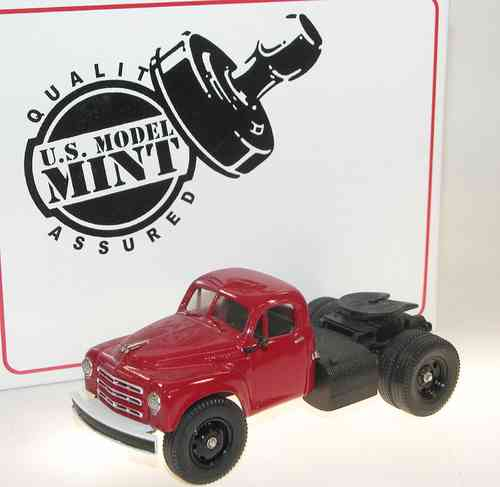 US Model Mint, 1950 Studebaker Semi Tractor, red, 1/43