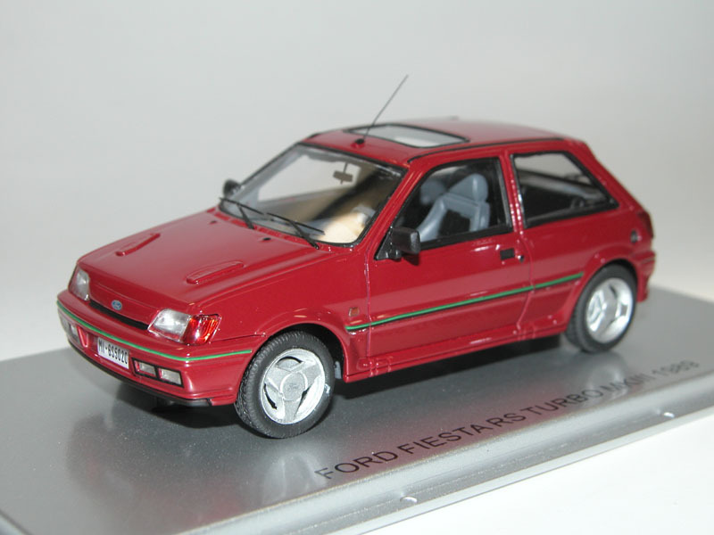 kess scale models 1989 ford fiesta rs turbo mkiii. Black Bedroom Furniture Sets. Home Design Ideas