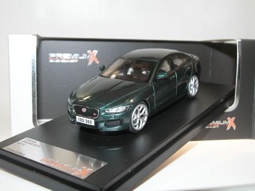 Jaguar XE S Grün Limousine Ab 2015 1//43 PremiumX Modell Auto mit oder ohne indiv