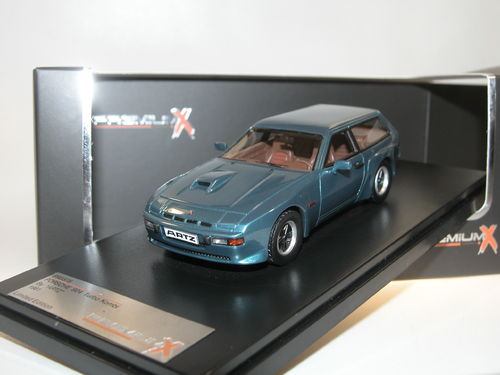 Premium X, Porsche 924 Turbo Break by ARTZ, 1981, blue, 1/43