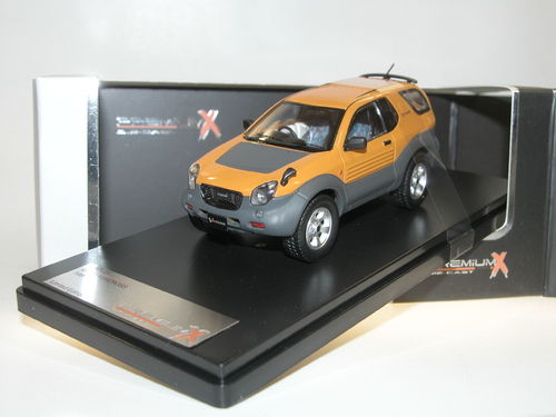 Premium X 1997 ISUZU VehiCROSS SUV Japan gelb 1/43